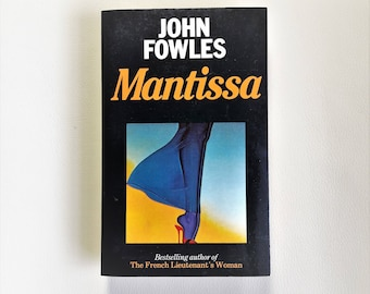 John Fowles - Mantissa - 1984 - Triad Panther - Paperback book - Second hand books