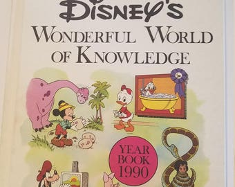 Disney's Wonderful World of Knowledge 1990 Year Book