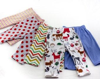 SEWING PATTERN , PDF, Baby Leggings Pattern, Easy Baby Sewing Pattern, Instant Download Baby Pattern, Stretch Pants Pattern