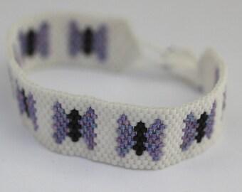 Butterfly Peyote Bracelet