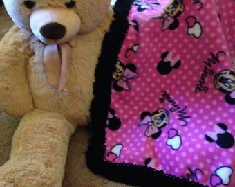 Disney Baby Blanket Minnie Mouse