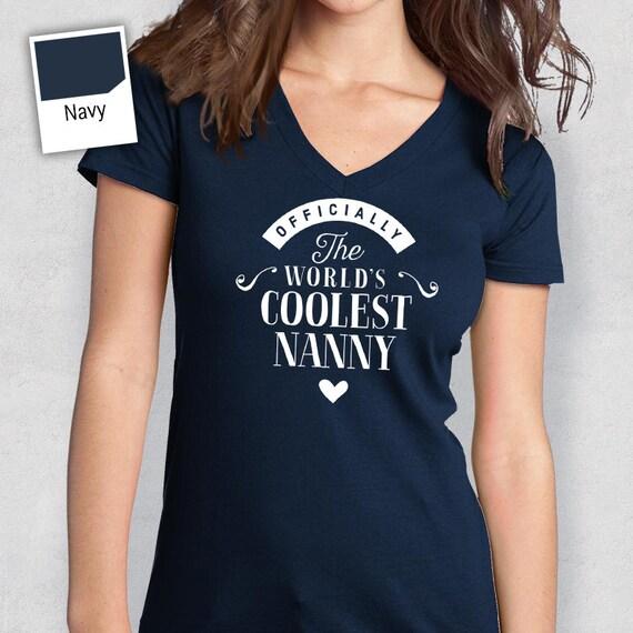 Cool Nanny Nanny Shirt Birthday Gifts Nanny Gift Nanny