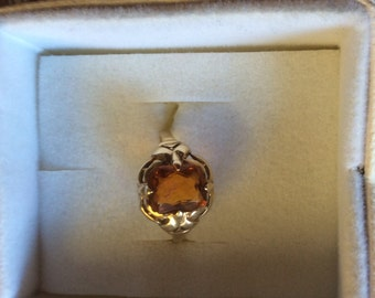 10KT Yellow Gold Citrine Ring