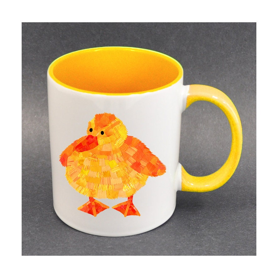 Duckling mug duckling gifts easter gift ideas personalised zoom negle Choice Image
