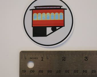 Pack of 5 Pittsburgh Incline Stickers