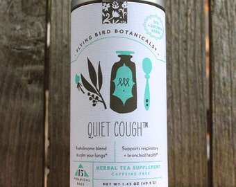 0436 Quiet Cough tea 15bag tin