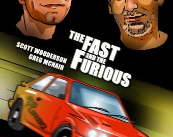 Custom spoof film poster-digital file