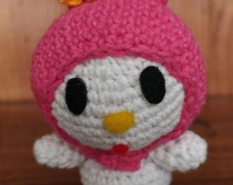 Crochet My Melody Sanrio Doll