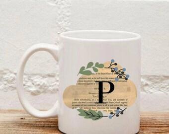 Tazza Lettera Iniziale - Mug Letter Name