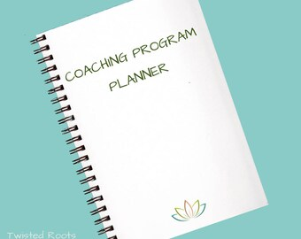 Printed Coaching Program Planner