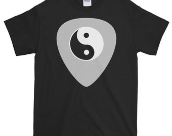Guitar Yin Yang, Pick, Musical, Instrument, Gift T shirt