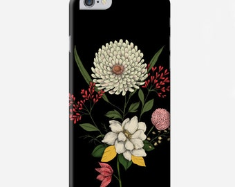 Smartphone case - iPhone or Samsung Galaxy case - Floral - Bouquet