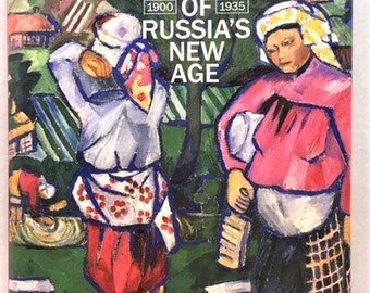 Women Artists of Russia's New Age 1900-1935 - hardback art text book with dust cover - 1990