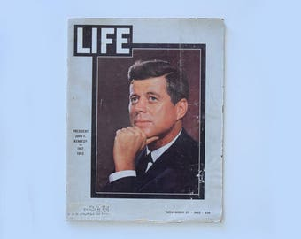 Kennedy Assassination Story in Life Magazine Nov. 29, 1963 - Includes Lee Harvey Oswald Assassination Pics