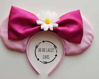 Maid Marian Mouse Ears, Maid Marian Mickey Ears, Maid Marian Minnie Ears, Robin Hood Maid Marian, Pink Mickey Ears, Pink Minnie Ears