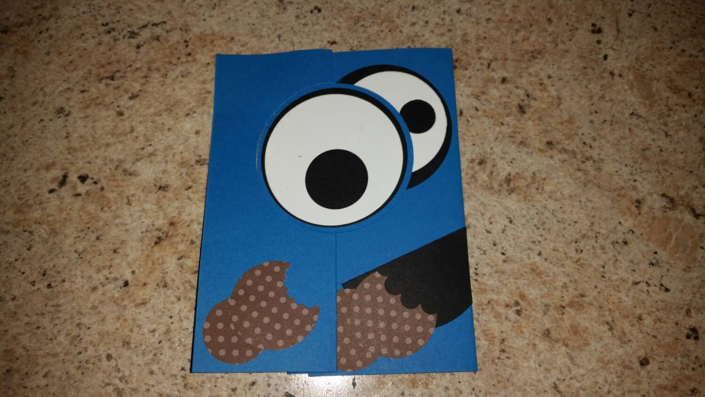 Cookie monster pop up card cookie monster birthday card zoom bookmarktalkfo Choice Image
