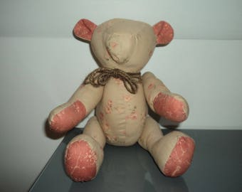 fabric bear articulated