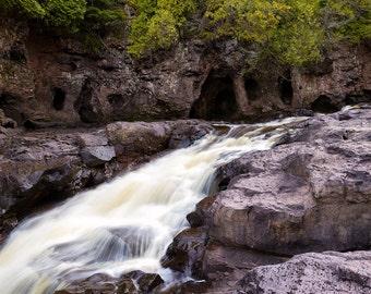Minnesota Photography, Fifth Falls, Gooseberry Falls State Park, Landscape Nature Photography, North Shore Art