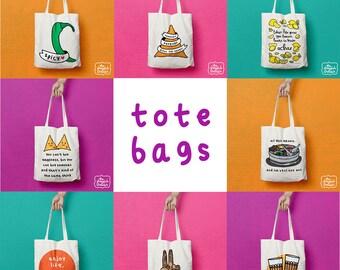 Indian Shopper / Tote Bag / Reusable Grocery Bag / Shoulder Bag