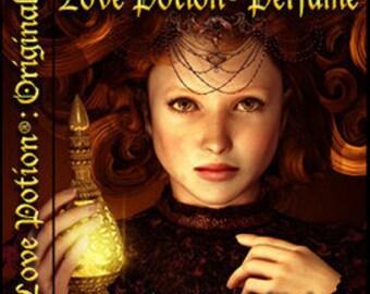 Love Potion Perfume - Handcrafted Perfume for Women (Original Blend) - Love Potion Magickal Perfumerie