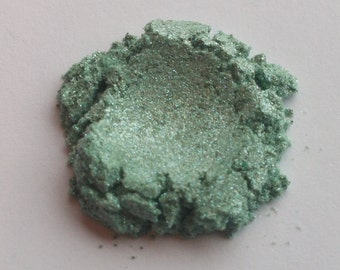 The Sirens Sea Green Dual Chrome Eye Shadow / Mineral Eye Shadow / Vegan Eye Shadow /