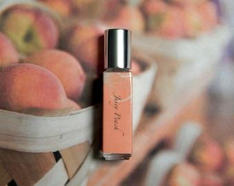 Juicy Peach Perfume Oil - Ripe Juicy Peach Roll On Perfume - 8mL