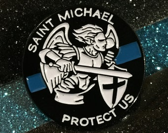 St. Michael Pin (or Tie Tack)
