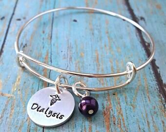 Dialysis Bracelet - Dialysis - Medical Bracelet - Gift for Dialysis Patient - On Dialysis - Kidney Disease - Medical Alert Bracelet