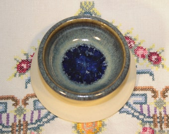 Ceramic Ring Dish with Recycled Glass