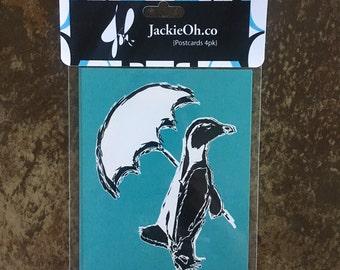 Penguin Postcard Pack