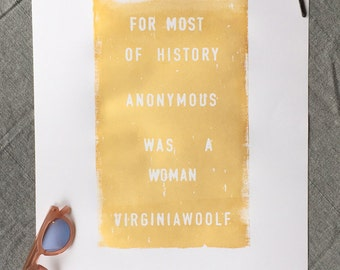 Gilded Virginia 14x17