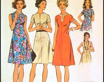 """Simplicity 6079  Misses' Jiffy Dress  Bust 39""""  UNCUT"""