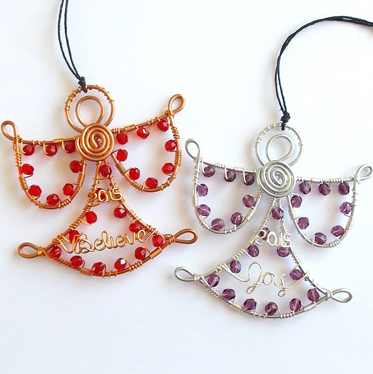 Fancy Wire And Bead Ornaments Gift - Electrical Diagram Ideas ...