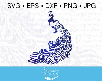 Peacock SVG, Peacock Clipart, Peacock Clip Art, Peafowl Clipart, Watercolor Peafowl, Peafowl SVG, Peacock, Peacock DXF, Peacock eps