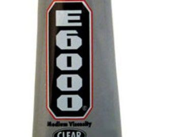 E6000 Glue Adhesive Industrial Strength - see three sizes, one with precision tip