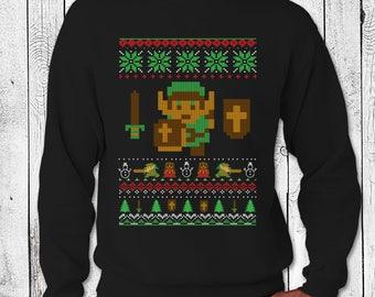 zelda ugly sweater - Legend Of Zelda Christmas Sweater