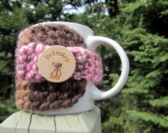 Petoskey Coffee Cozy, Up North Michigan, Coffee Cup Cozy, Charlevoix, Walloon Lake, Harbor Springs, Traverse City, Up North Michigan