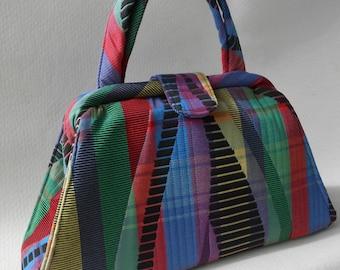 Kaleidoscope Colors Retro Bag