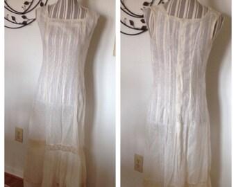 Beautiful Victorian White Lace Dress