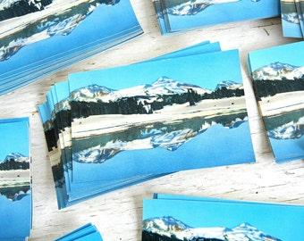 Vintage Eastern Oregon Postcards | Three Sisters Cascade Mountains | Bend Oregon Souvenir | Pacific Northwest | Photochrom