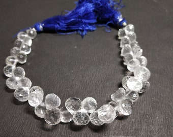 Natural Crystals Cut Onion Beads
