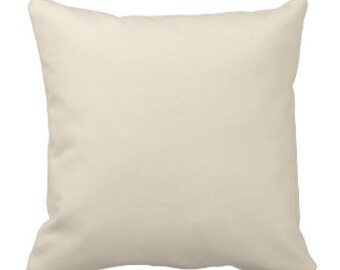 25 12x12 WHOLESALE Blank Solid Ivory Pillow Covers for Embroidery Stencil Craft Screen Printing Painting 25 Covers 12x12