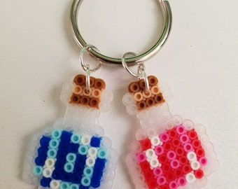 HP and MP Potion Keychain