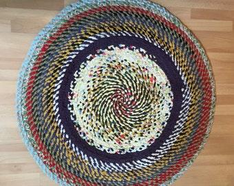Handmade Braided Rag Rug