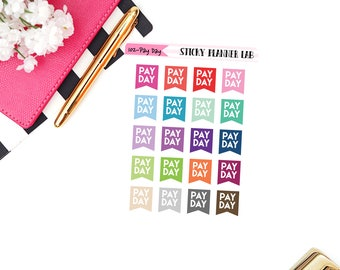 Pay Day // Planner Stickers