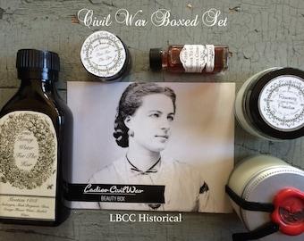 Civil War Boxed Set Natural Makeup Historical Makeup Beauty Care History