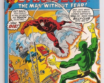 Daredevil 87 NM- Electro John Buscema Bronze Age Marvel Comics Book 1st Series Christmas Gifts Birthday Gifts for Him