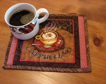 Cappuccino Coffee Mug Rug
