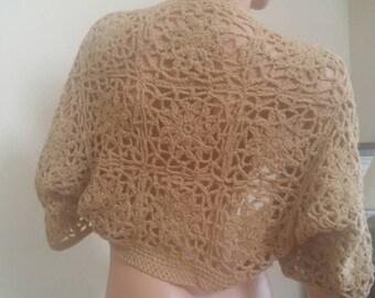 Crochet shrug. Made to order