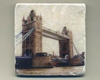 Tower of London Bridge -  Original Coaster